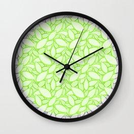 Rice-pattern2 Wall Clock