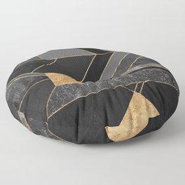 Nordic Black Floor Pillow