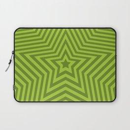 Stars - green vers. Laptop Sleeve