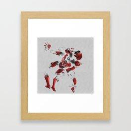 dis MAN tled Framed Art Print