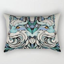 Berlin Fox Rectangular Pillow
