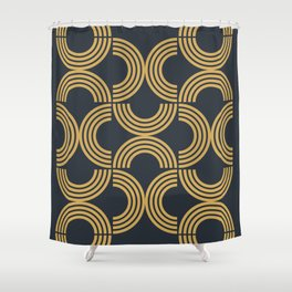 Deco Geometric 01 Shower Curtain