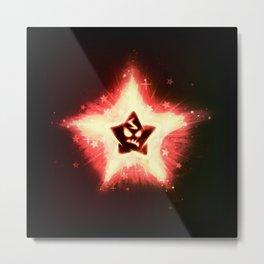 Disgruntled Star Metal Print