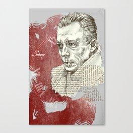 Camus - The Stranger Canvas Print