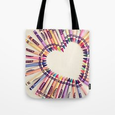 love in every color Tote Bag