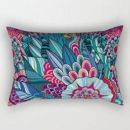 flowers /Agat/ Rectangular Pillow