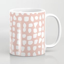 Dots / Pink Coffee Mug