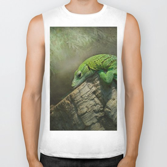 Thinking green thoughts... Biker Tank