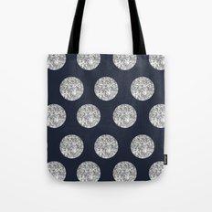 Glitter Pois Tote Bag