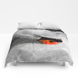 The Proud Swan Art Comforters
