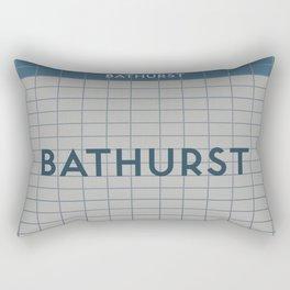 BATHURST   Subway Station Rectangular Pillow