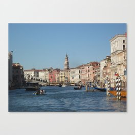 The Grand Canal of Venice, Italy Canvas Print
