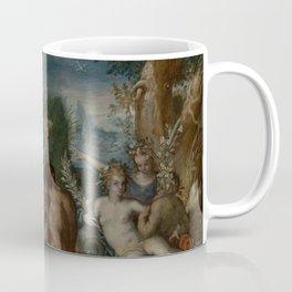 Pietro Mera - Pan and Syrinx with River Gods and Nymphs Coffee Mug