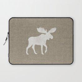 Moose Silhouette Laptop Sleeve