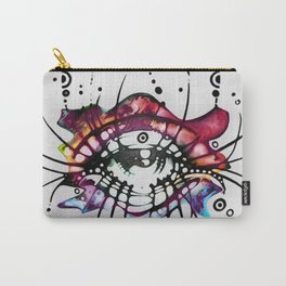 """""""Pop Art Eyelashes"""" Carry-All Pouch"""
