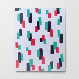 spring stripes Metal Print