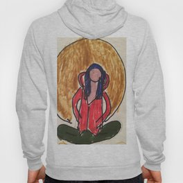 Yoga with Denca :Meditation tapestry and hoodie Hoody