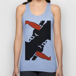 When eyes are closed Unisex Tank Top