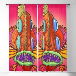 Mother fish Blackout Curtain