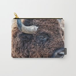 Bison the Mighty Beast Carry-All Pouch