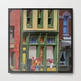 Oh, Hello! Small Town Downtown  Metal Print