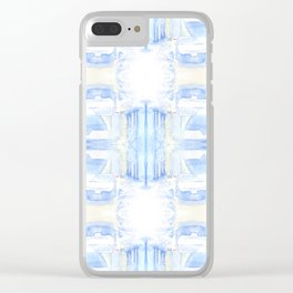 Car in the snow 4x4 Clear iPhone Case