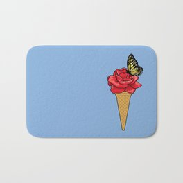Butterfly Ice Cream Bath Mat