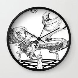 Mystic Owl Wall Clock