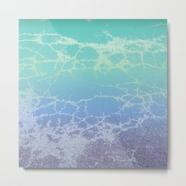 sea foam Metal Print