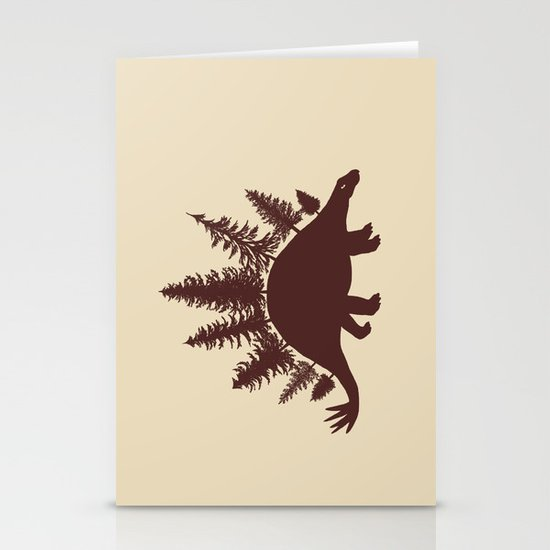 Stegoforest  Stationery Cards