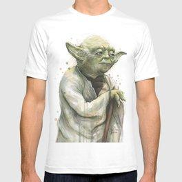 Yoda Jedi Portrait Sci-Fi T-shirt