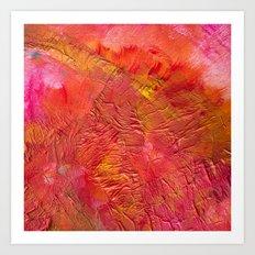 Red... Art Print