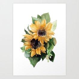 Sunflower VI Art Print