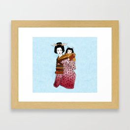 Mother and Child II Framed Art Print
