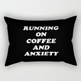 Coffee And Anxiety Rectangular Pillow