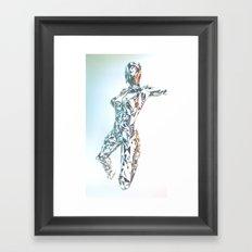 ORIGAMI v3 Framed Art Print