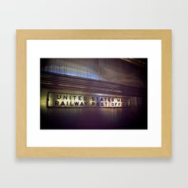 Mail Railway Framed Art Print