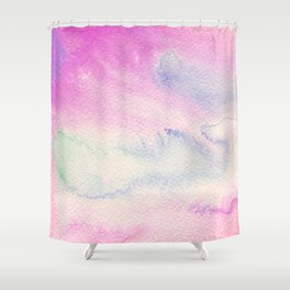 Nebulous Ocean Shower Curtain