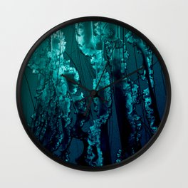 Jello-Blue Wall Clock