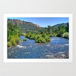 American River III Art Print