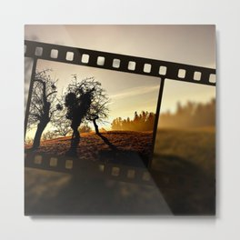 Nature Cinema Metal Print