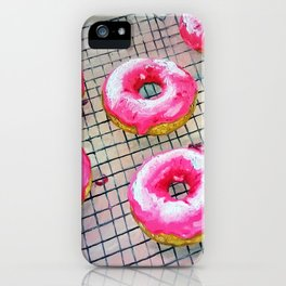 Sweet donuts iPhone Case
