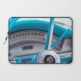 The blue steering wheel Laptop Sleeve