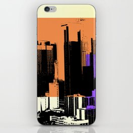 Downtown LA Skyline iPhone Skin