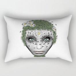 Face Nature Rectangular Pillow