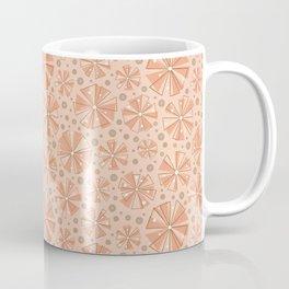 Mountain Bloom in Peach Coffee Mug