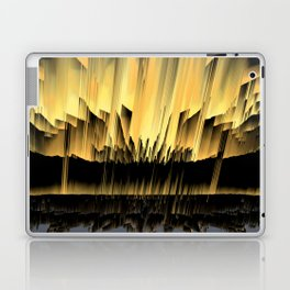 Against an asteroid attack Laptop & iPad Skin