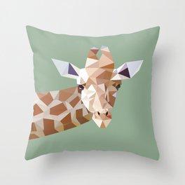 Giraf Throw Pillow