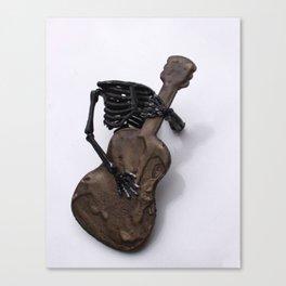 Rock and Roll ya Bones Canvas Print