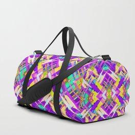 Colorful digital art splashing G482 Duffle Bag